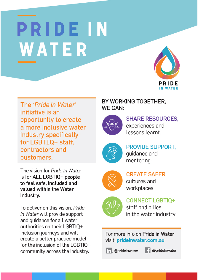 what is pride in water flyer A5